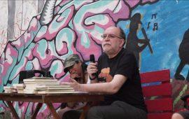 """Carlos Taibo en la presentación de la """"Mostra del llibre anarquista"""" en Alicante"""