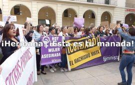 Concentración contra la sentencia de La Manada